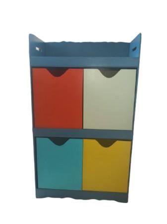 Organizador de brinquedos com 04 caixas